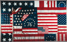 Composition in Red, White and Blue, 1975