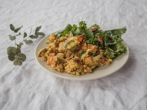 Scrambled Chickpea Eggs