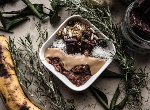 Creamy Vegan Nutella Porridge