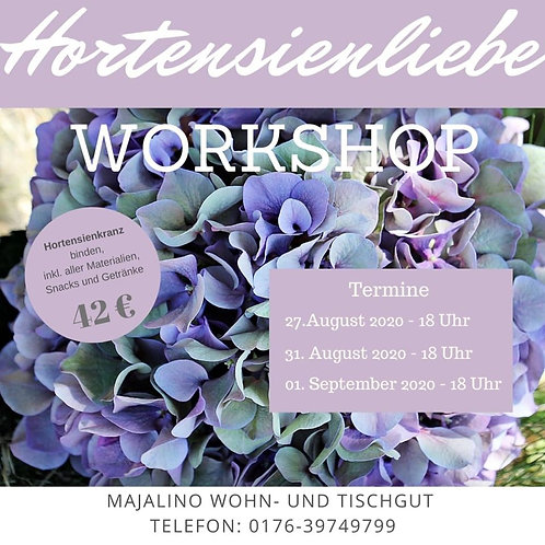Hortensien Workshop