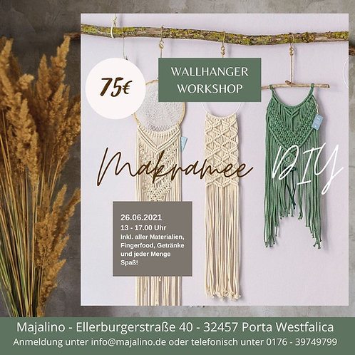 Wallhanger Workshop