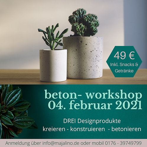 Betonworkshop