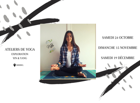 Ateliers Yin et Yang Yoga