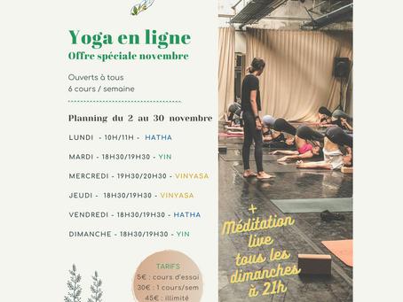 1 mois de Yoga ensemble !