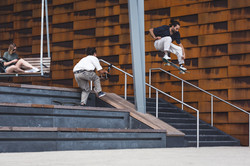 Skateboard Trick Ollie