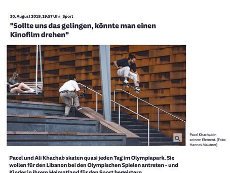 Die olympischen Spiele mit unseren Skateboard Coaches - Süddeutsche Artikel