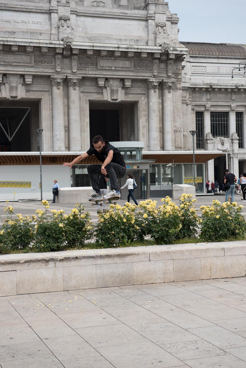 Skateboard Trick - Ollie