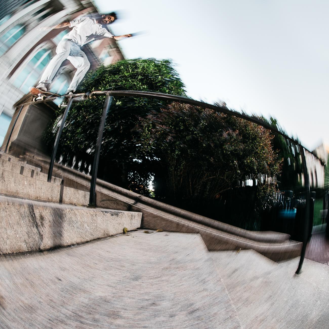 Skateboard Trick - Boardslide