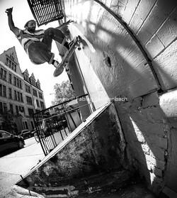Skate Trick - Wallride