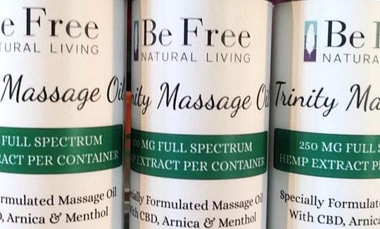 Trinity Massage Oil