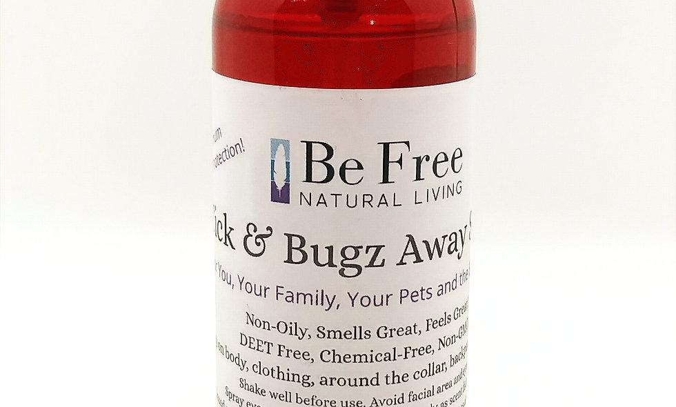 4 oz Tick & Bugz Away Spray