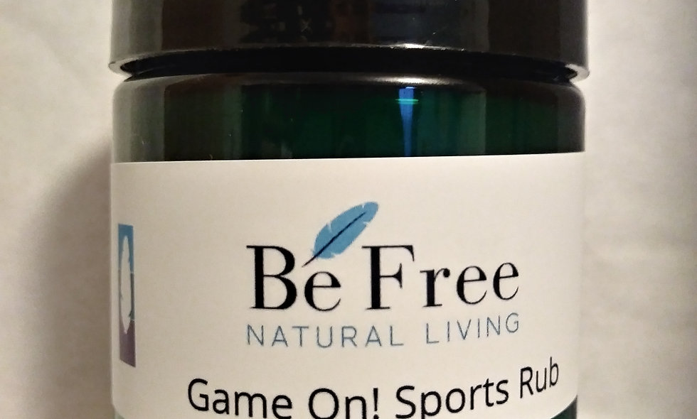 Game On!  4 Oz Pain Relief Rub