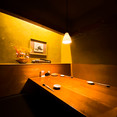 テーブル半個室