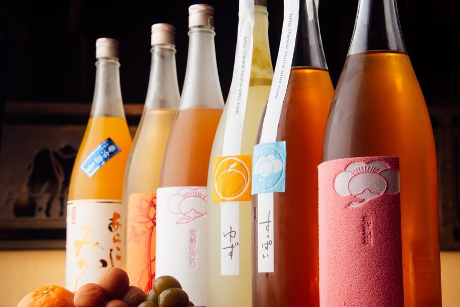 和歌山梅酒・果実酒