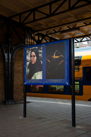 '20X20BY20' on display at NS-station Roosendaal