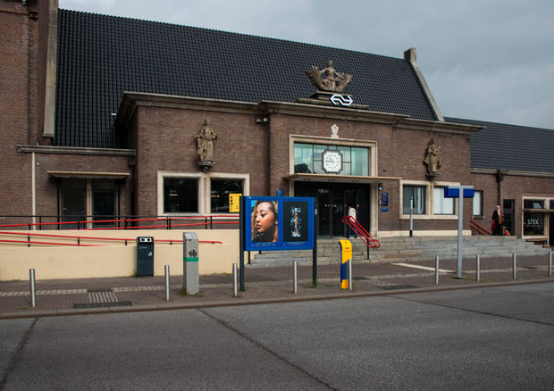 20X20BY20 on display at NS-station Roosendaal