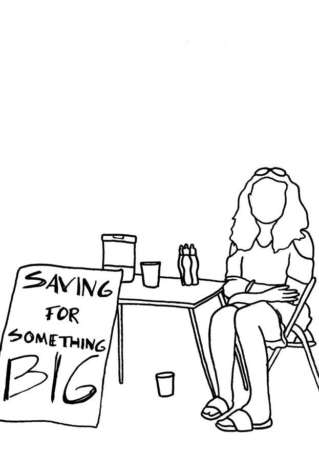 SAVING FOR SOMETHING BIG