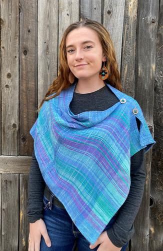 Silk Side Pleated Poncho.jpg
