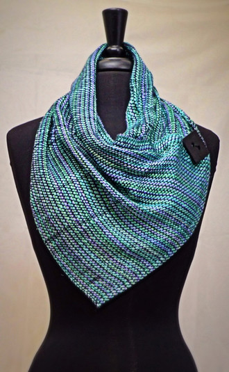 silk cowl scarf