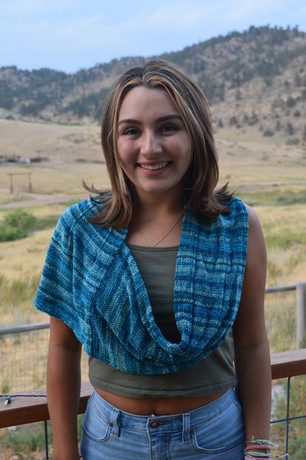 Pleated Cowl Scarf