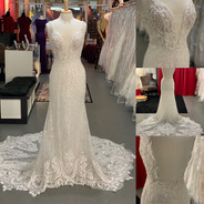 Calla Blanche size 10 $1800 Retails $2667