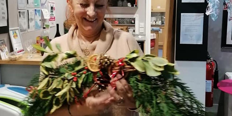 Christmas Garland Making plus Festive Refreshments