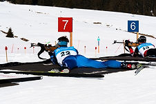 Biathlon dans les Pyrénées