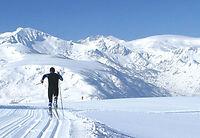 Ski de fond au Chioula