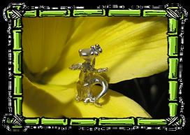 Hula Gecko Charm