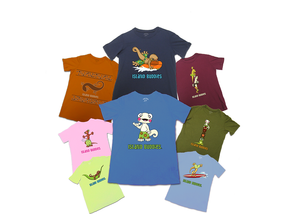 Kids Tees| Island Buddies Island Apparel