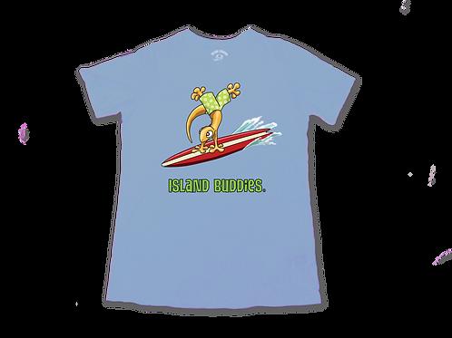 Handstand Surfing Gecko Tee