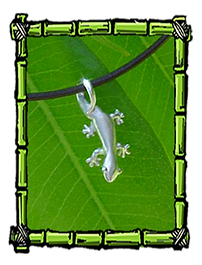 Fun Island Jewelry | Gecko Necklace