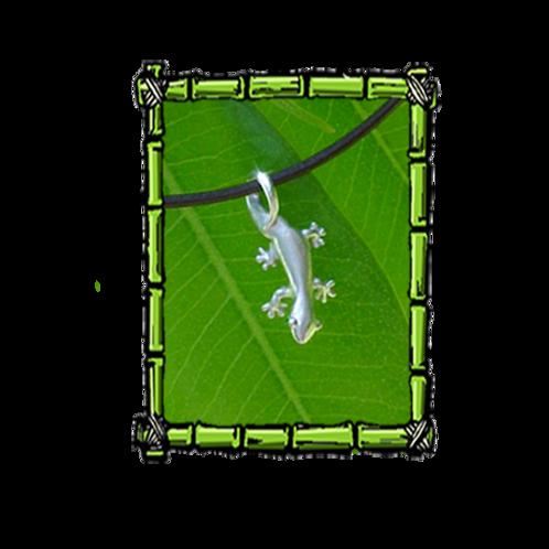 Island Jewelry | Silver Gecko Pendant