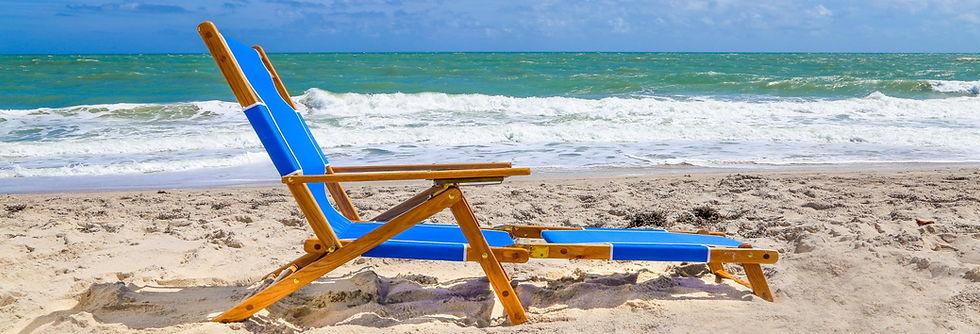 Wood Beach Chair, Beach Umbrellas, Beach Furniture, H T Chair Company
