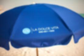Anywhere Chair Custom Silk Screening Beach Umbrella