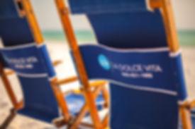 Anywhere Chair Monogrammed Wood Beach Chairs