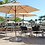 Thumbnail: San Marco Fiberlite Patio Umbrella
