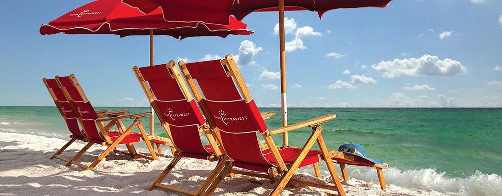 Anywhere Chair Wood Beach Chairs Custom Silkscreening & Embroidery