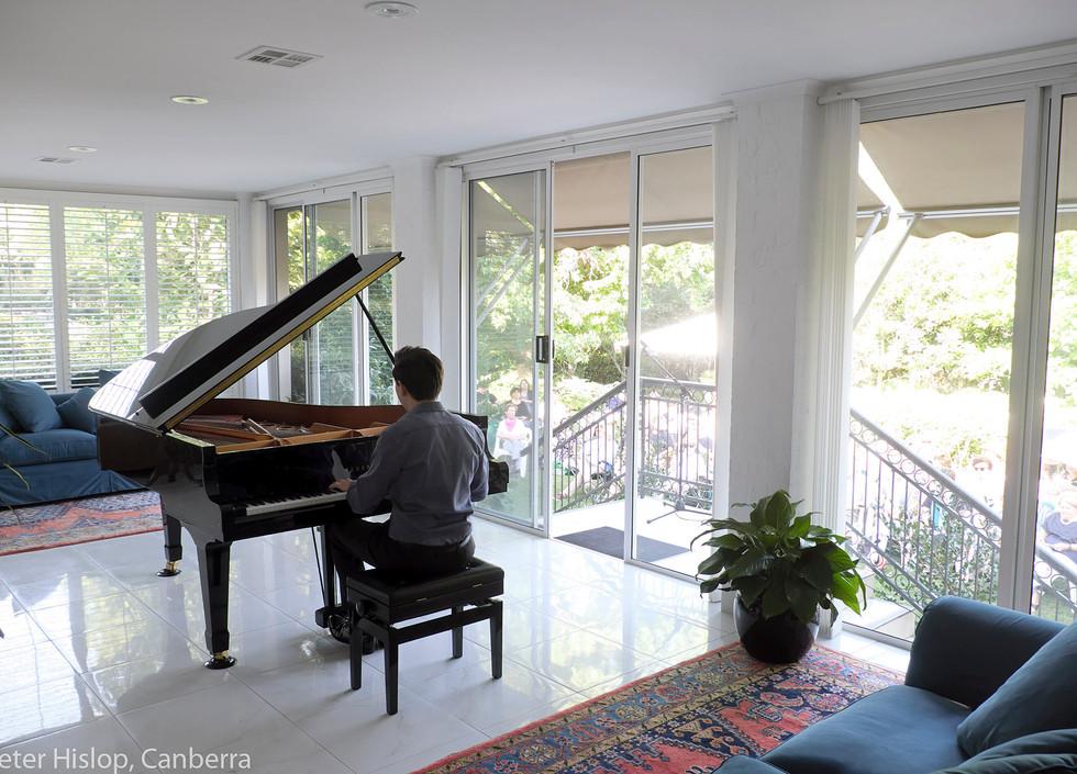 Chopin in the Garden