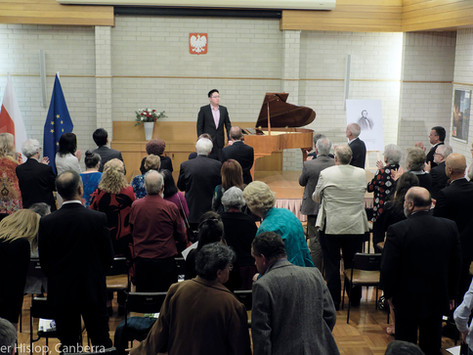 Chopin's Birthday Concert in Canberra