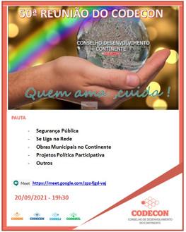 HOJE: 50ª reunião do Conselho do Continente