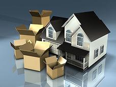 moving houseto storage bin