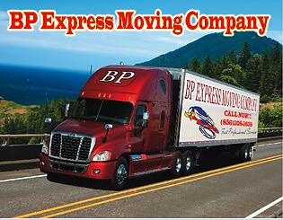 BP Express moving truck
