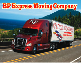 BP Express moving truck