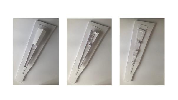 3D Paper model by floor