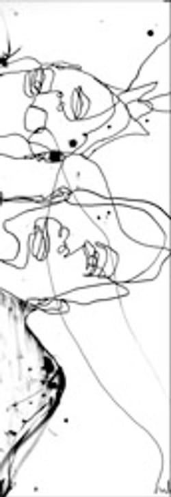 Man in Crisis Drawing Series No. 5