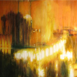 Nocturne in Brown & Yellow