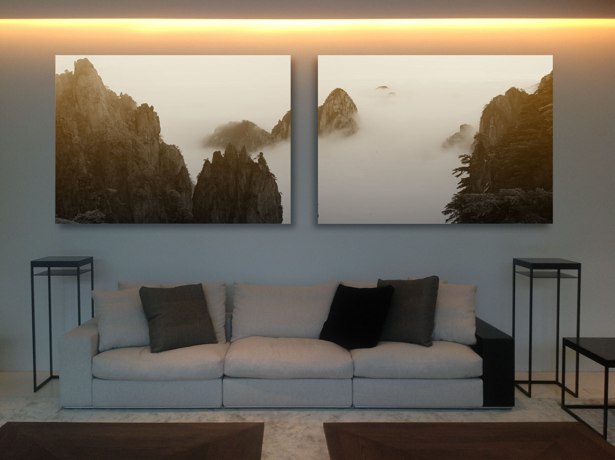 Huang Shan Diptych