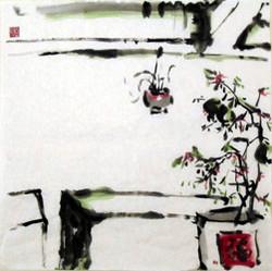 Shi Liu and the incense urn