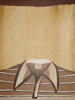 Striped Brown Tee Shirt